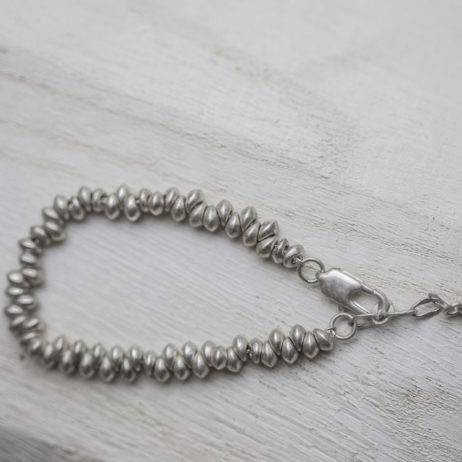 Tutti and Co Jewellery Silver Bead Bracelet