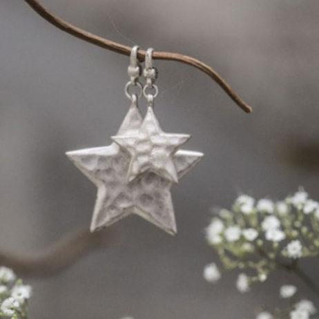 Tutti and Co Jewellery Large Silver Star Charm Pendant