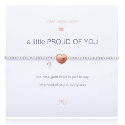 Joma Jewellery Girls a little Proud of You Silver Bracelet