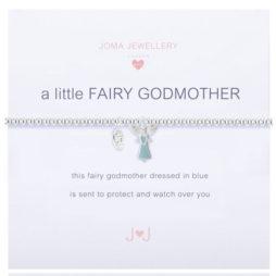 Joma Jewellery Girls a little Fairy Godmother Silver Bracelet