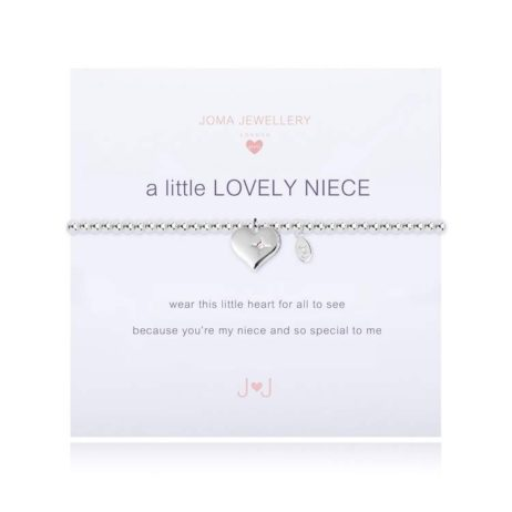 Joma Jewellery Girls a little Lovely Niece Silver Bracelet