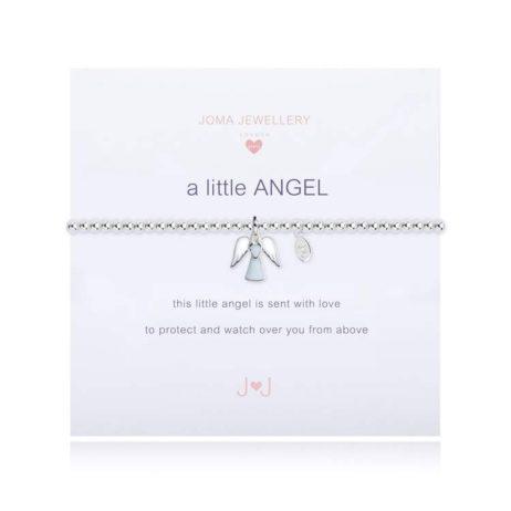Joma Jewellery Girls a little Angel Silver Bracelet