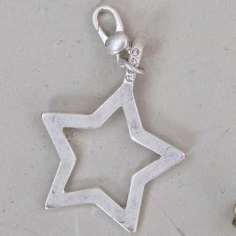 Tutti and Co Jewellery Silver Open Star Charm