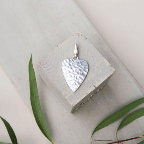 Tutti and Co Jewellery Mia Small Silver Heart Charm EOL
