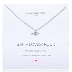 Joma jewellery a little Lovestruck Silver Heart Necklace 1103
