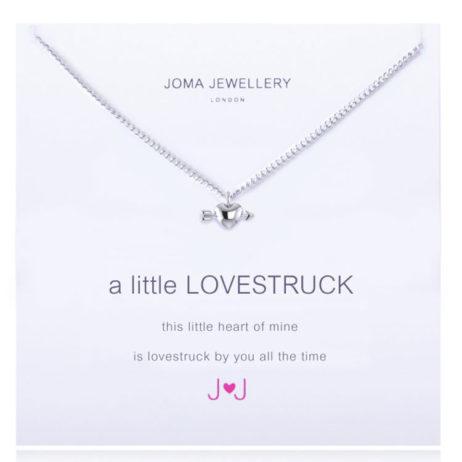 Joma jewellery a little Lovestruck Silver Heart Necklace 1103