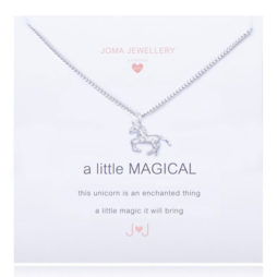 Joma girls a little Magical Unicorn silver necklace