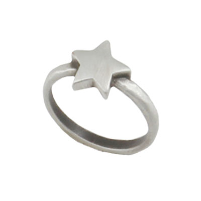 Danon Jewellery Silver Star Ring - EOL