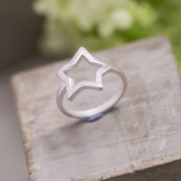 Tutti and Co Jewellery Silver Star Ring