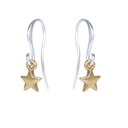 Hultquist Jewellery Mini Star Drop Earrings