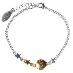 Hultquist Jewellery Star and Moon Bracelet