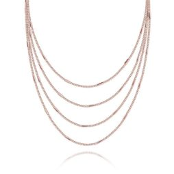 Joma Jewellery Lara Rose Gold Necklace 1739