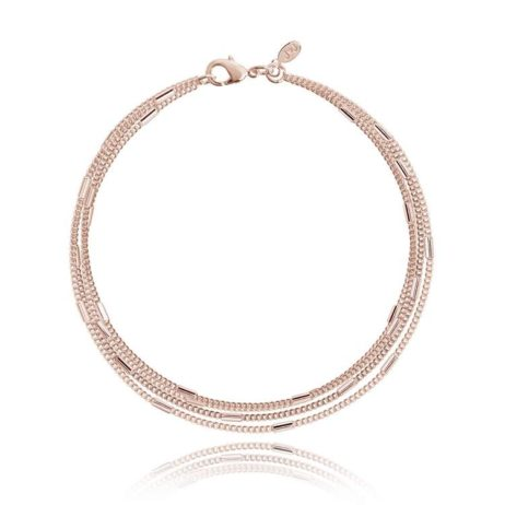 Joma Jewellery Lara Rose Gold Bracelet