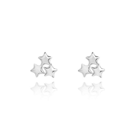 Joma Jewellery Stars Silver Earrings 1761