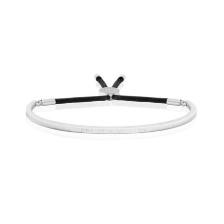 Joma Jewellery One In a Million Silver Message Bangle