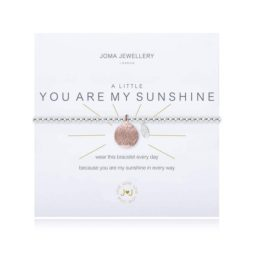 Joma Jewellery a little You Are My Sunshine Silver Bracelet 1831