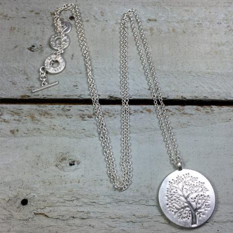 Sence Copenhagen Mulberry Tree of Life Silver Necklace