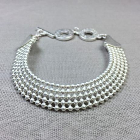 Sence Copenhagen Wide Signature Silver Bracelet