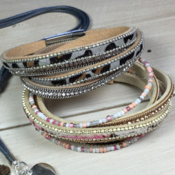 Hot Tomato Jewellery Animal Attraction Wrap Bracelet