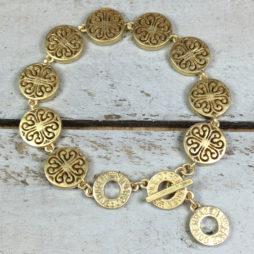 Sence Copenhagen Rooftop View Gold Bracelet