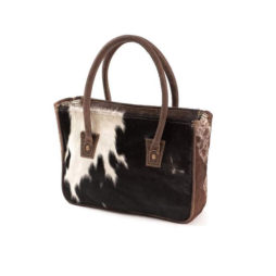 Hot Tomato Glory Cowhide Bag