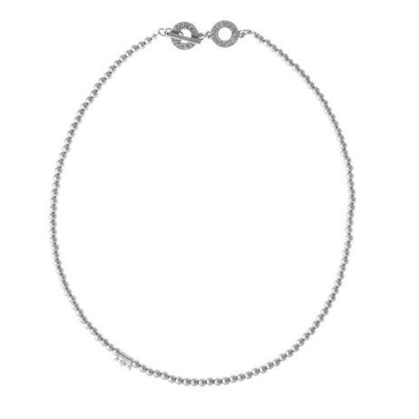 Sence Copenhagen New Boho Short Silver Necklace - EOL