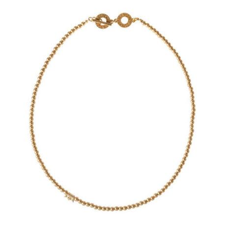 Sence Copenhagen New Boho Short Gold Necklace - EOL
