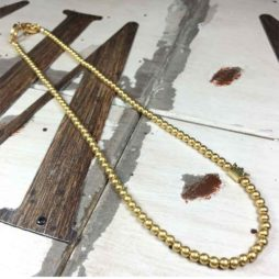 Sence Copenhagen New Boho Short Gold Necklace