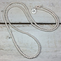 Sence Copenhagen New Boho Long Silver Necklace
