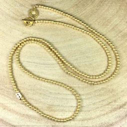 Sence Copenhagen New Boho Long Gold Necklace