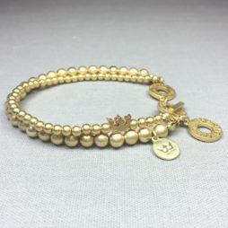 Sence Copenhagen New Boho Gold Bracelet