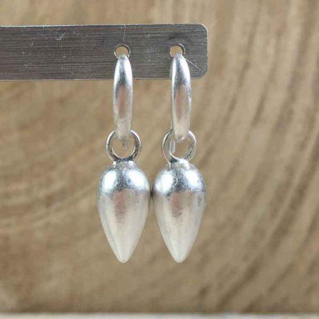 Sence Copenhagen Xmas Silver Plated Drop Earrings