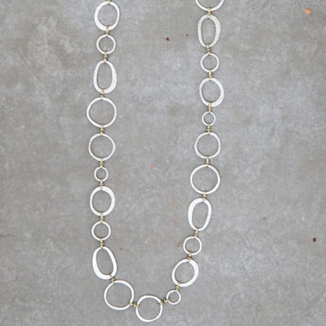 Tutti and Co Jewellery ARIA Statement Ring Connector Necklace