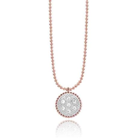 Joma Jewellery Elin Bi Colour Pave Necklace 1801