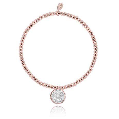 Joma Jewellery Elin Bi Colour Pave Bracelet 1802 - EOL