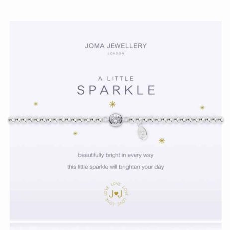 Joma Jewellery a little Sparkle Silver Bracelet 329