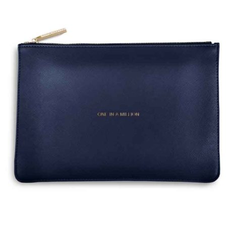 Katie Loxton Navy One In A Million Perfect Pouch