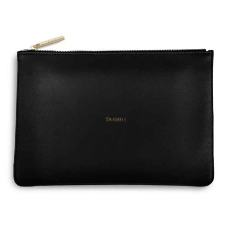 Katie Loxton Black Ta Dah Perfect Pouch