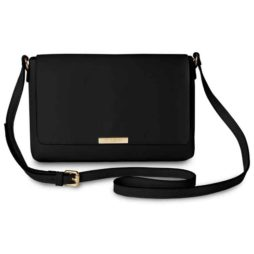 Katie Loxton Black Classic Shoulder Bag