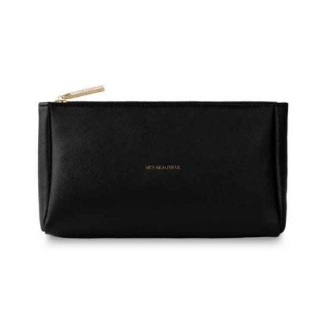 Katie Loxton Black Must Have Hey Beautiful Makeup Bag KLB029 *
