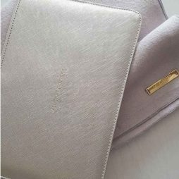 Katie Loxton Metallic Silver All That Glitters Perfect Pouch