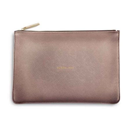 Katie Loxton Rose Pewter Be Brilliant Perfect Pouch