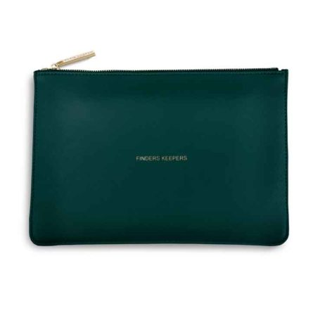 Katie Loxton Teal Finders Keepers Perfect Pouch - EOL