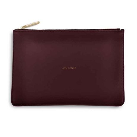 Katie Loxton Burgundy Arm Candy Perfect Pouch