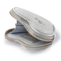 Katie Loxton Silver Love Heart Coin Purse