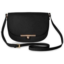 Katie Loxton Black Shoulder Bag