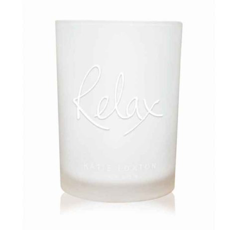 Katie Loxton RELAX Candle Cotton and Jasmine EOL