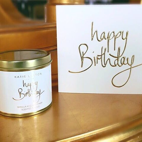 Katie Loxton Happy Birthday Scented Candle