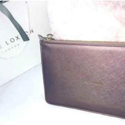 Katie Loxton Rose Gold Be Brilliant Perfect Pouch