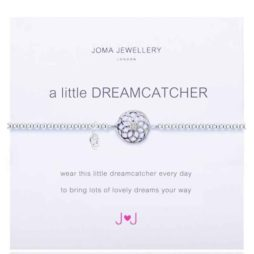 Joma Jewellery a little Dream Catcher Silver Bracelet 1155